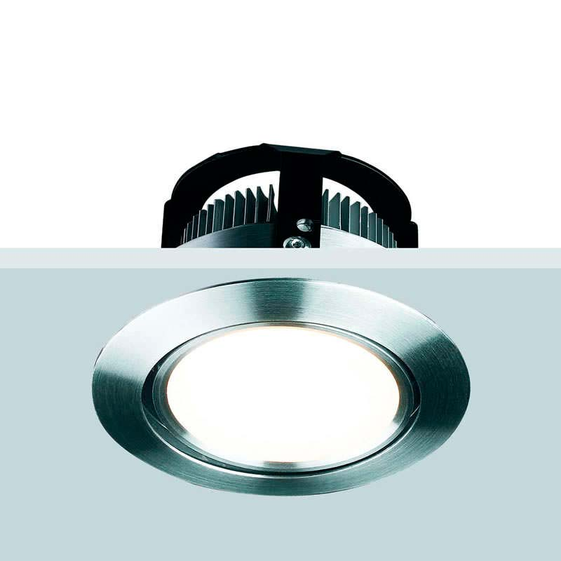 Downlight Led PETALAS 7W, Blanco cálido